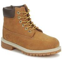 Schuhe Kinder Boots Timberland 6 IN PREMIUM WP BOOT Schwarz / Schwarz / Honig