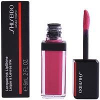 Beauty Damen Lippenstift Shiseido Lacquerink Lipshine 302-plexi Pink  6 ml