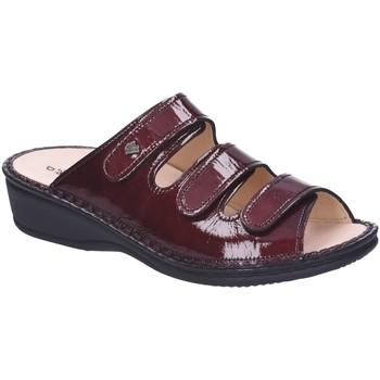 Schuhe Damen Pantoffel Finn Comfort Pantoletten PISA 2501-022069 rot