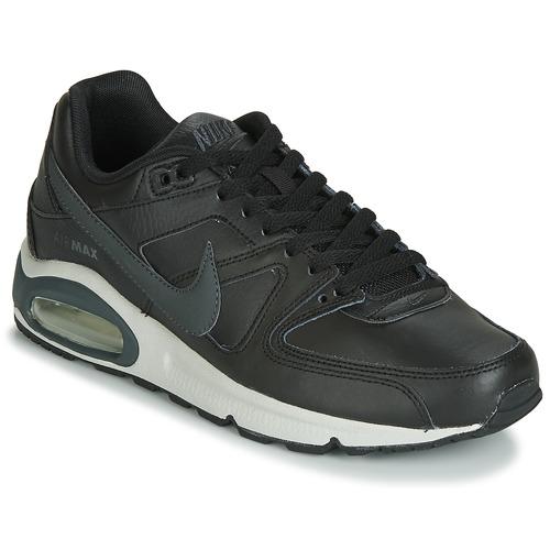 Schuhe Herren Sneaker Low Nike AIR MAX COMMAND LEATHER Schwarz