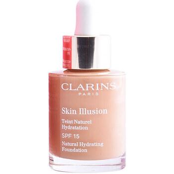Beauty Damen Make-up & Foundation  Clarins Skin Illusion Teint Naturel Hydratation 113-chestnut  3