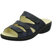 Schuhe Damen Pantoffel Diverse Pantoletten 1005359/8 blau