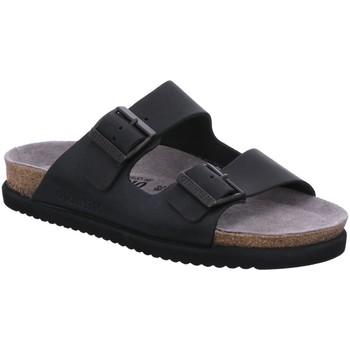 Schuhe Herren Pantoffel Mephisto Offene Nerio 3400 schwarz