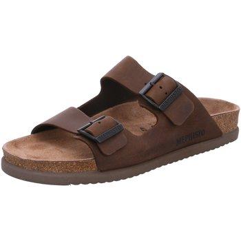 Schuhe Herren Pantoffel Mephisto Offene NERIO Nerio 3451 braun