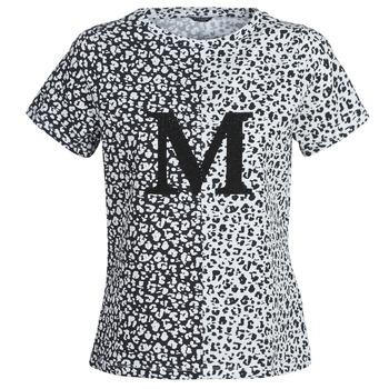 Kleidung Damen T-Shirts Marciano RUNNING WILD Schwarz / Weiss