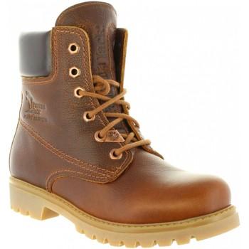 Schuhe Damen Boots Panama Jack PANAMA 03 WOOL B9 Marr?n