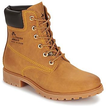 Schuhe Damen Boots Panama Jack PANAMA Gelb