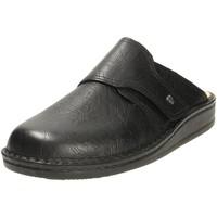 Schuhe Herren Hausschuhe Finn Comfort Offene Amalfi schwarz