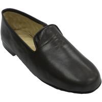 Schuhe Herren Hausschuhe Deisidro Schuhmann Haut sehr angenehm  br Braun