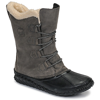 Schuhe Damen Schneestiefel Sorel OUT N ABOUT PLUS TALL Grau
