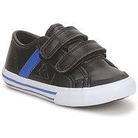 Schuhe Jungen Sneaker Low Le Coq Sportif SAINT MALO Schwarz / Blau