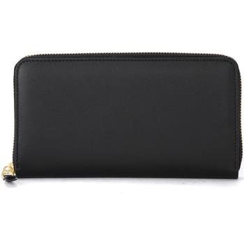 Taschen Damen Portemonnaie Comme Des Garcons Comme Des Garçons Portemonnaie Wallet in Leder Schwarz Schwarz