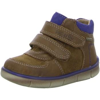 Schuhe Kinder Boots Superfit Klettschuhe 422-24 braun