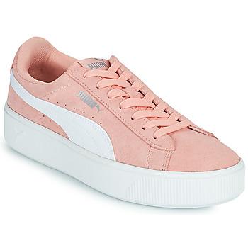 Schuhe Damen Sneaker Low Puma VIKKY STACK PEA Rose