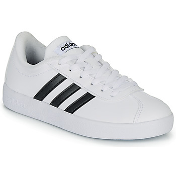 Schuhe Kinder Sneaker Low adidas Originals VL COURT K BLC Weiss