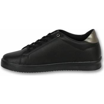 Schuhe Herren Sneaker Low Cash Money Sneaker Tiger Black Black Schwarz