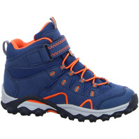 Schuhe Jungen Wanderschuhe Meindl Bergschuhe Lucca Junior Mid GTX 2106 049 blau