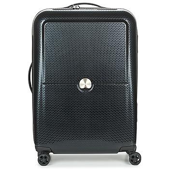 Taschen Hartschalenkoffer Delsey TURENNE CAB 4R 55CM Schwarz