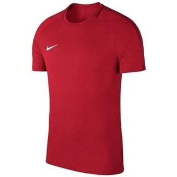 Kleidung Jungen T-Shirts Nike Academy 18 Junior Rot