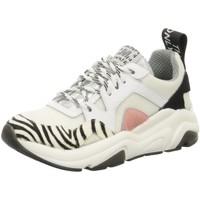 Schuhe Damen Sneaker Low Meline Mi 1101 weiß