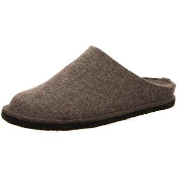 Schuhe Herren Hausschuhe Haflinger Flair Soft,anthrazit 311010-4 braun