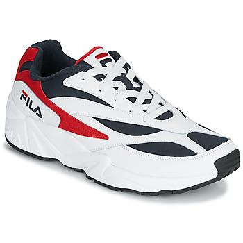 Schuhe Herren Sneaker Low Fila V94M LOW Weiss / Rot