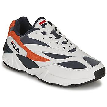Schuhe Herren Sneaker Low Fila V94M R LOW Weiss / Orange