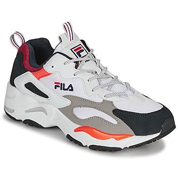 Schuhe Herren Sneaker Low Fila RAY TRACER Weiss / Blau