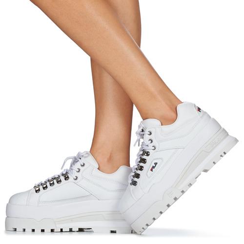 Trailblazer Wedge Wmn Fila Sneaker Low Damen Weiss