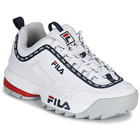 Schuhe Damen Sneaker Low Fila DISRUPTOR LOGO LOW WMN Weiss