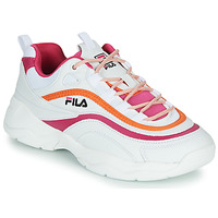 Schuhe Damen Sneaker Low Fila RAY CB LOW WMN Weiss / Rose / Orange