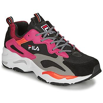 Schuhe Damen Sneaker Low Fila RAY TRACER WMN Schwarz / Rose