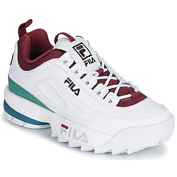 Schuhe Damen Sneaker Low Fila DISRUPTOR  CB LOW WMN Weiss