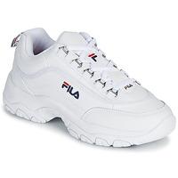 Schuhe Damen Sneaker Low Fila STRADA LOW WMN Weiss