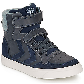 Schuhe Kinder Sneaker High Hummel STADIL WINTER HIGH JR Blau