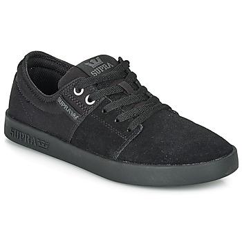 Schuhe Sneaker Low Supra STACKS II Schwarz