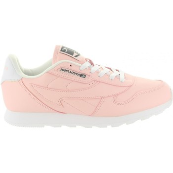 Schuhe Damen Sneaker Low John Smith CRESIR W 18I Rosa
