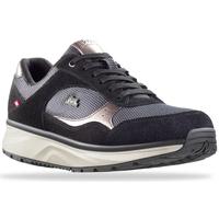 Schuhe Damen Sneaker Low Joya Tina Silver Black 534