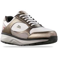 Schuhe Damen Sneaker Low Joya Tina Cream Gold 534