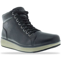 Schuhe Damen Sneaker High Joya Sonja High-Top Black 534
