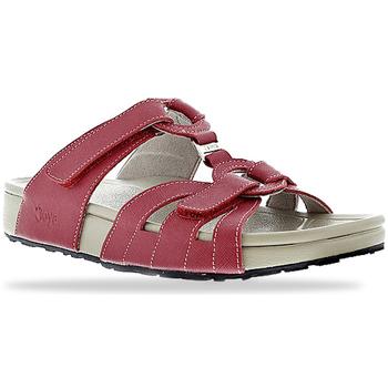 Schuhe Damen Pantoffel Joya Bern Red 534