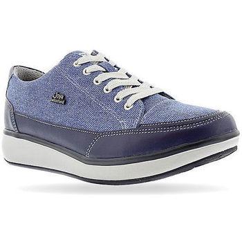 Schuhe Damen Sneaker Low Joya Sonja Blue Jeans 534