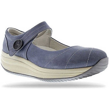 Schuhe Damen Ballerinas Joya Mary Jane Light Blue 534
