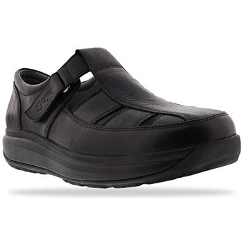 Schuhe Herren Slipper Joya Fisherman Black 534