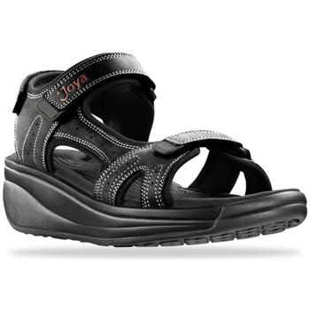 Schuhe Damen Sportliche Sandalen Joya Dubai Black 534