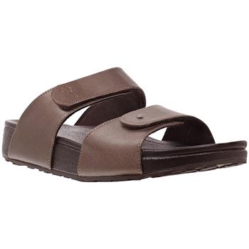 Schuhe Damen Pantoffel Joya Vienna Bronze 534