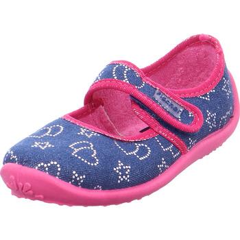 Schuhe Damen Hausschuhe Semler - X2125-511-007 grau
