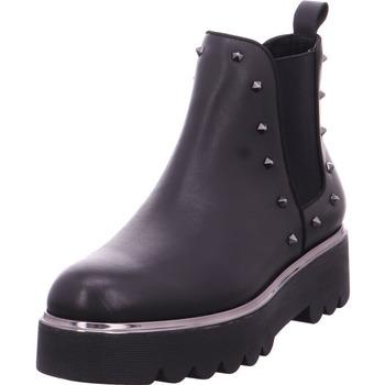Schuhe Damen Stiefel Chelsea Stiefel - JEA131 schwarz