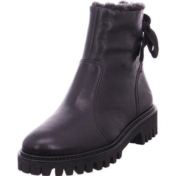 Schuhe Damen Stiefel Stiefelette 0063-9364-033 SCHWARZ 02