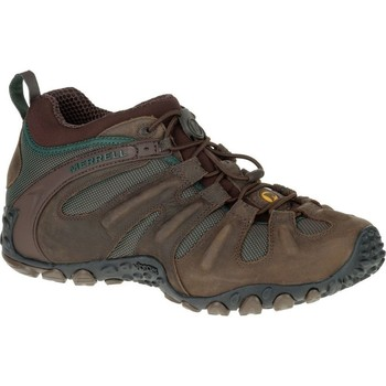 Schuhe Herren Wanderschuhe Merrell Chameleon II Stretch Braun